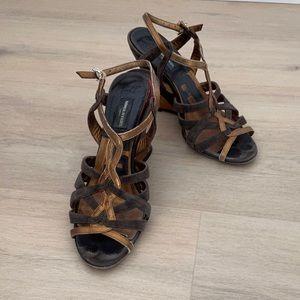 Sonia Rykiel Paris Heels Wedges Sandals  37.5
